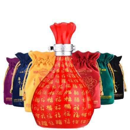 53°汾酒集团珍藏酒福袋520ml(6瓶装)