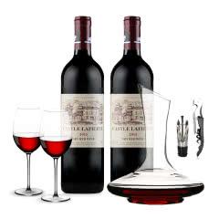 法国拉菲堡2015干红葡萄酒750ml(2瓶装)