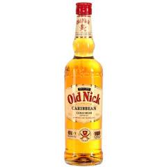 37.5°法国原装进口老尼克 (Old Nick)洋酒金朗姆酒 700mL