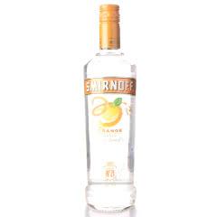 英国原装进口洋酒 SMIRNOFF Vodka斯米诺(皇冠)伏特加酒 斯米诺香橙味 700
