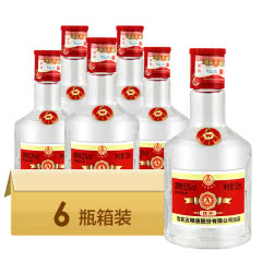 五粮液股份A级佳宾级小酒版125ml*6