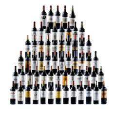 法国(列级庄·名庄正牌)波尔多1855列级61家酒庄套装(2010年份) 750ml*61