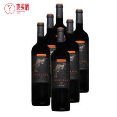 黄尾袋鼠签名版珍藏梅洛红葡萄酒750ml   6只装