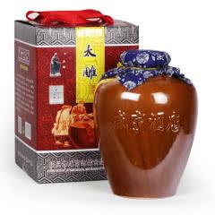 绍兴黄酒咸亨酒店太雕十年陈酿黄酒5kg坛装整箱 咸亨风味