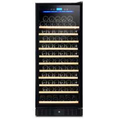 维诺卡夫CWC-350AJP 嵌入式压缩机恒温红酒柜 标配满层架