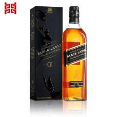 40°英国Johnnie Walker尊尼获加黑牌黑方威士忌700ML