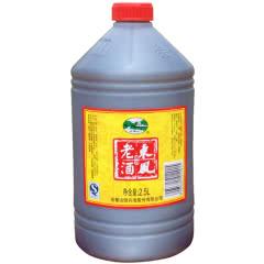 绍兴黄酒加饭酒桶装老酒会稽山花雕酒半干清爽一桶2.5L