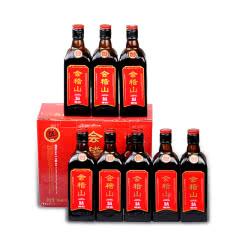 绍兴黄酒花雕酒会稽山绍兴酒纯正五年500ml*8瓶半干型礼盒黄酒