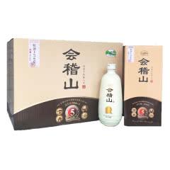 绍兴黄酒 会稽山典藏五年陈花雕酒500ml*6瓶 内盒礼盒装 绍兴特产