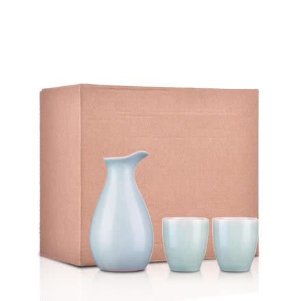 青玉瓷酒具
