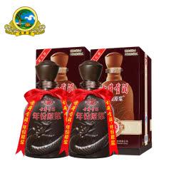 【酒厂直营】50°古井贡酒年份原浆献礼500ml(2瓶装)