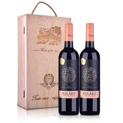 智利干露.克拉克干红葡萄酒750ml*2(双支礼盒套装)