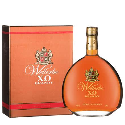 40°威迪宝XO洋酒白兰地700mL礼盒装