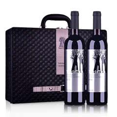 【红洋酒特卖】丁戈树赤霞珠干红葡萄酒双支皮盒套装