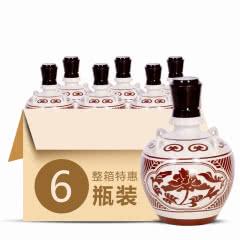 45°武酒坛藏八年浓香型白酒500ml(6瓶装)