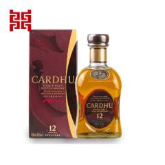 40°英国黑石卡杜12年单一麦芽威士忌 苏格兰威士忌