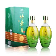 38°汾酒特酿竹叶青(5)礼盒装500ml (2013年)(双瓶装)【2瓶配手提袋一只】