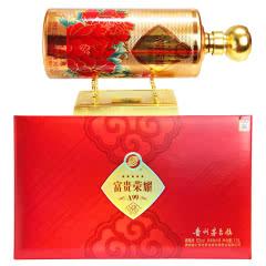 52°贵州茅台镇 贵王府 富贵荣耀A99 浓香型白酒 礼盒装 1.5L