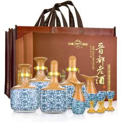 53°汾酒晋都老酒礼盒475ml*2(两盒)