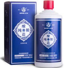 42°谷养康粮食酒 优级蓝 500ml单瓶装