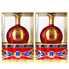 52°西凤名品臻藏贡品浓香型白酒婚庆喜宴礼盒酒500ml(2瓶装)