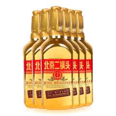 46°北京二锅头(出口型小方瓶)永丰牌清香型白酒500ml(6瓶装)