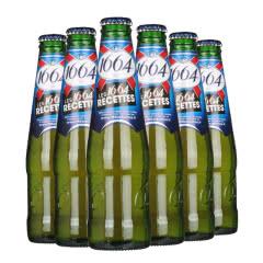 法国进口啤酒凯旋1664黄啤克虏伯黄啤酒250ML(6瓶装)