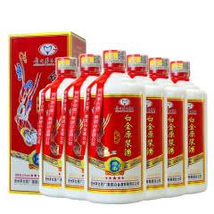 52度贵州茅台集团白金酒公司白金原浆酒425ml(6瓶)