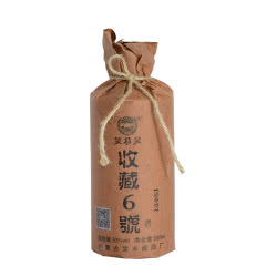 53°蒙特泉收藏6号 清香型白酒 500ml单瓶装