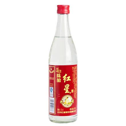 42°/43°北京红星二锅头500ml 单支品鉴装 红瓶/绿瓶随机发