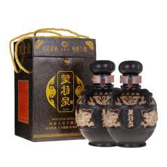 52°蒙特泉双龙纯酿土烧清香白酒 500ml(双瓶装)