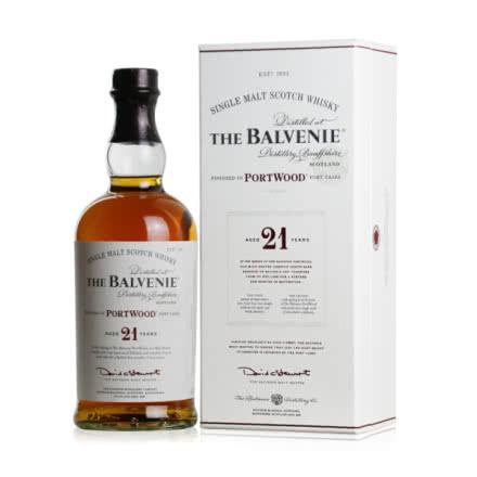 43°英国百富21年单一麦芽威士忌700ml