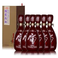 68°+46°江苏双沟国香陶坊白酒30ml+450ml(6瓶装)
