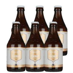 比利时进口啤酒智美白帽修道院精酿啤酒330ml(6瓶装)