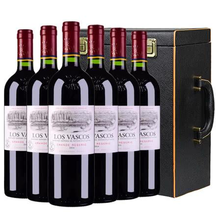 拉菲(LAFITE)巴斯克珍藏干红葡萄酒进口红酒整箱红酒礼盒装750ml*6(ASC)