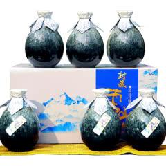 绍兴黄酒封藏雪山14度半甜型花雕酒整箱500ml*6瓶礼盒装