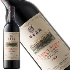 新疆有机红酒 和硕芳香庄园金奖梅洛干红葡萄酒750ml*1支装