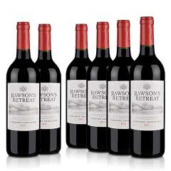澳洲整箱红酒澳大利亚奔富洛神山庄赤霞珠红葡萄酒750ml(6瓶装)