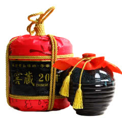 绍兴黄酒窖藏花雕酒14度半甜型黄酒1.5L瓷坛礼品装