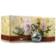 53°牛栏山二锅头 珍品三十(30)年 清香型青龙白酒 500ml 6瓶 整箱