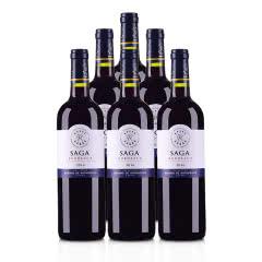 法国拉菲传说2016波尔多法定产区红葡萄酒750ml(6瓶装)
