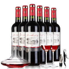 法国原瓶原装进口醉慕赤霞珠干红葡萄酒红酒整箱6支整箱装 750*6