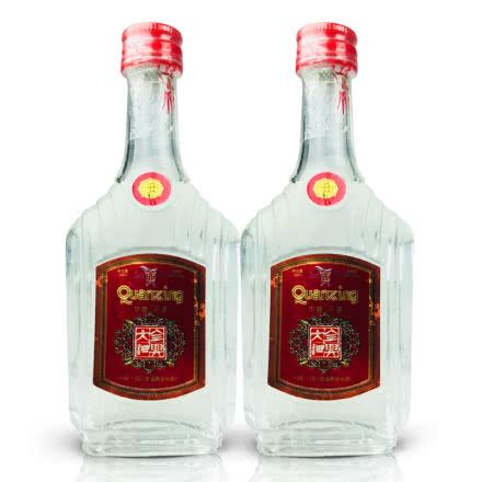 老酒 52º全兴大曲50ml (2瓶装) 1999年