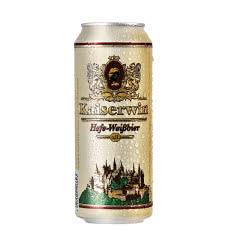 德国 凯撒啤酒 进口白啤500ml*24听原装进口啤酒罐装小麦啤酒整箱