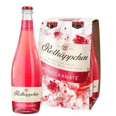 Rotkappchen/小红帽 德国原瓶进口红酒 甜起泡气泡葡萄酒200ml 石榴味4支