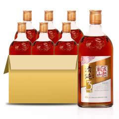 古越龙山 绍兴黄酒清纯三年花雕酒糯米酒包邮 500ML*6瓶