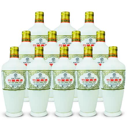 老酒 45º瓷瓶竹叶青酒五年熟成500ml (12瓶装) 2008年