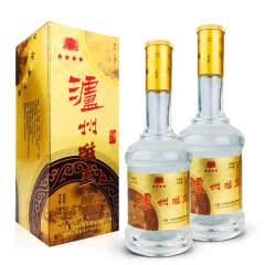 老酒 52º泸州老窖滋补公司泸州滋玉大曲酒500ml (2瓶装)05-06年随机发货