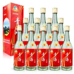 老酒 50°古井特制青海大曲500ml (12瓶装)1999-2000年随机发货