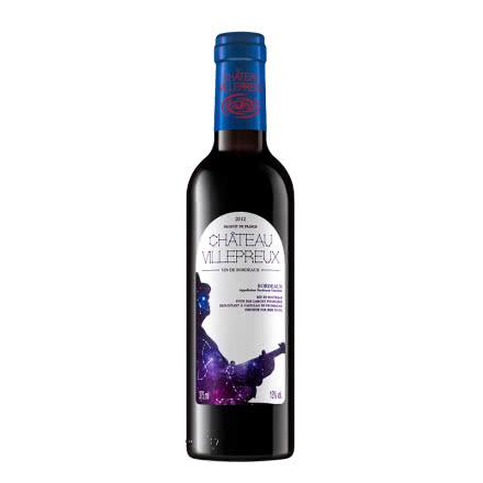 【拉蒙】法国进口红酒波尔多AOC维勒堡系列干红葡萄酒375ml